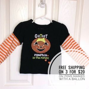 🎈 Pumpkin in the Patch Long sleeve Top 24 mo
